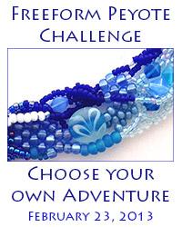 Free Form Peyote Challenge