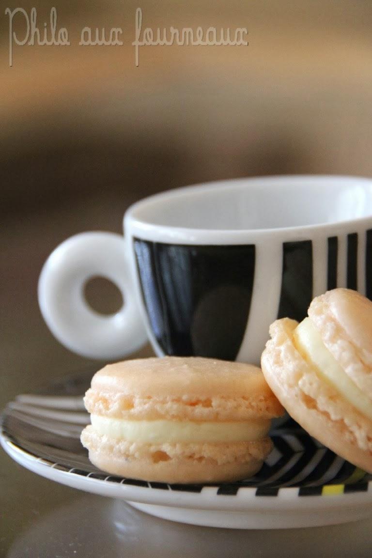 Philo Aux Fourneaux Macarons Ganache Montee Au Chocolat Blanc
