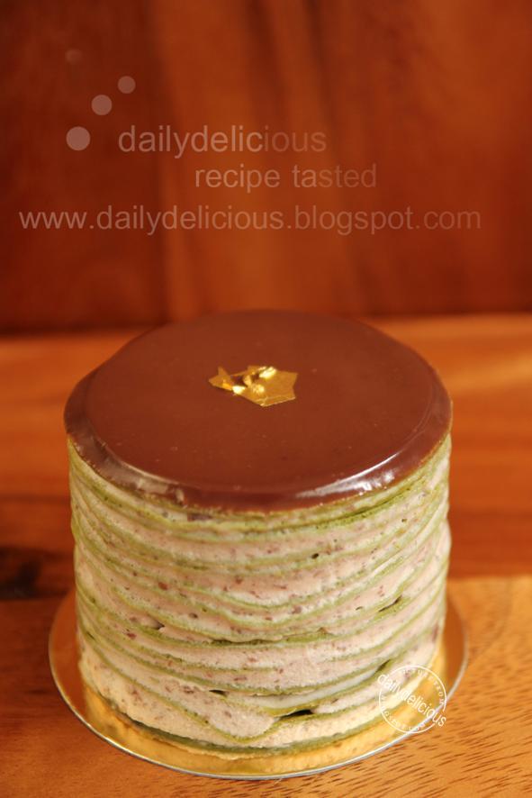 Japanese Crepe Cake Singapore