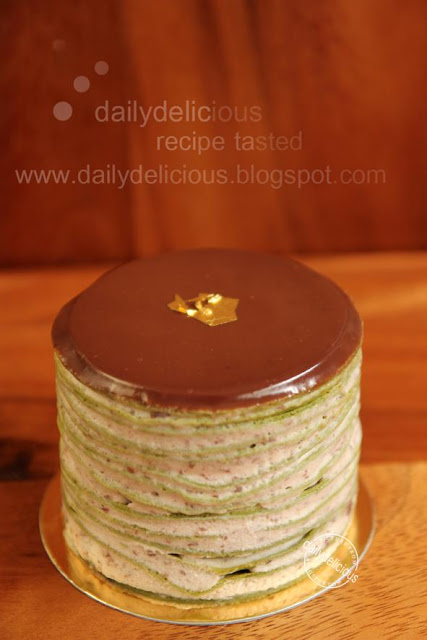 Crepe Cake Recipe Green Tea