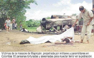 Venezuela/ Colombia y su conflicto interno - Página 5 2+Mapiripa%CC%81n+despue%CC%81s+de+la+masacre1997