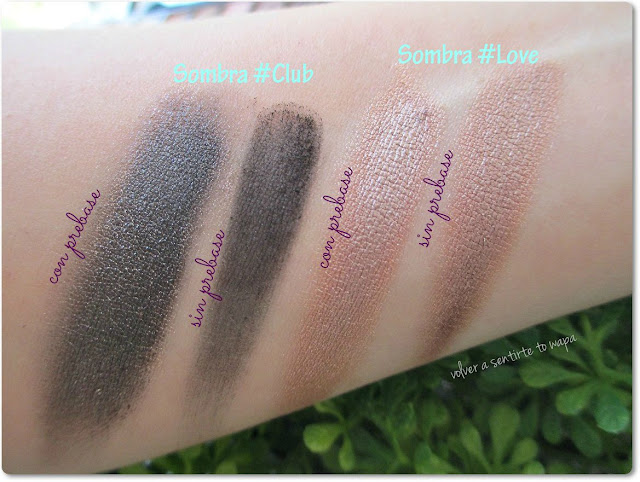 Eye Primer de la Paleta #Selfie de I HEART MAKEUP: Review & Swatches