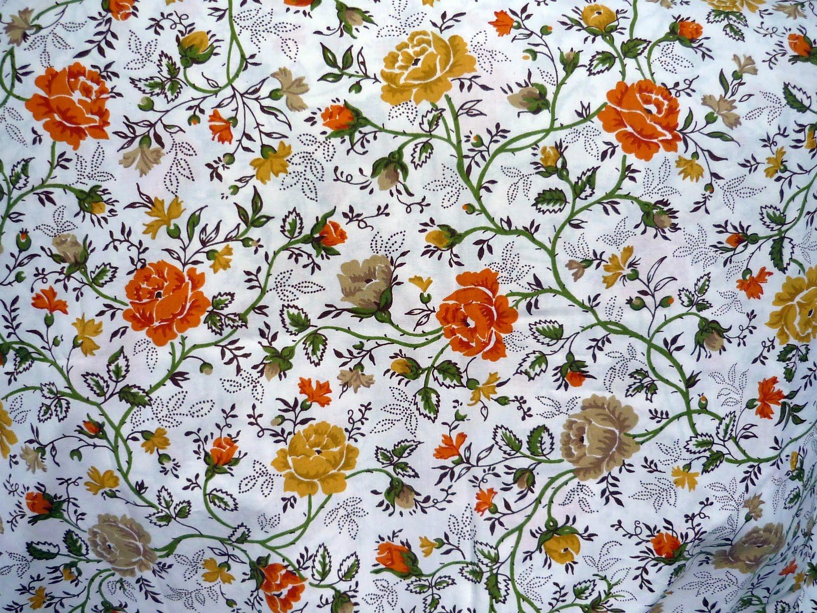 Vintage Floral Print Local Honey Crafts Vintage Floral Sheets
