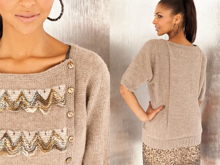 Модные вязаные свитера и трикотажные кофты сезона осень-зима 2012. Модные вязанные кофточки