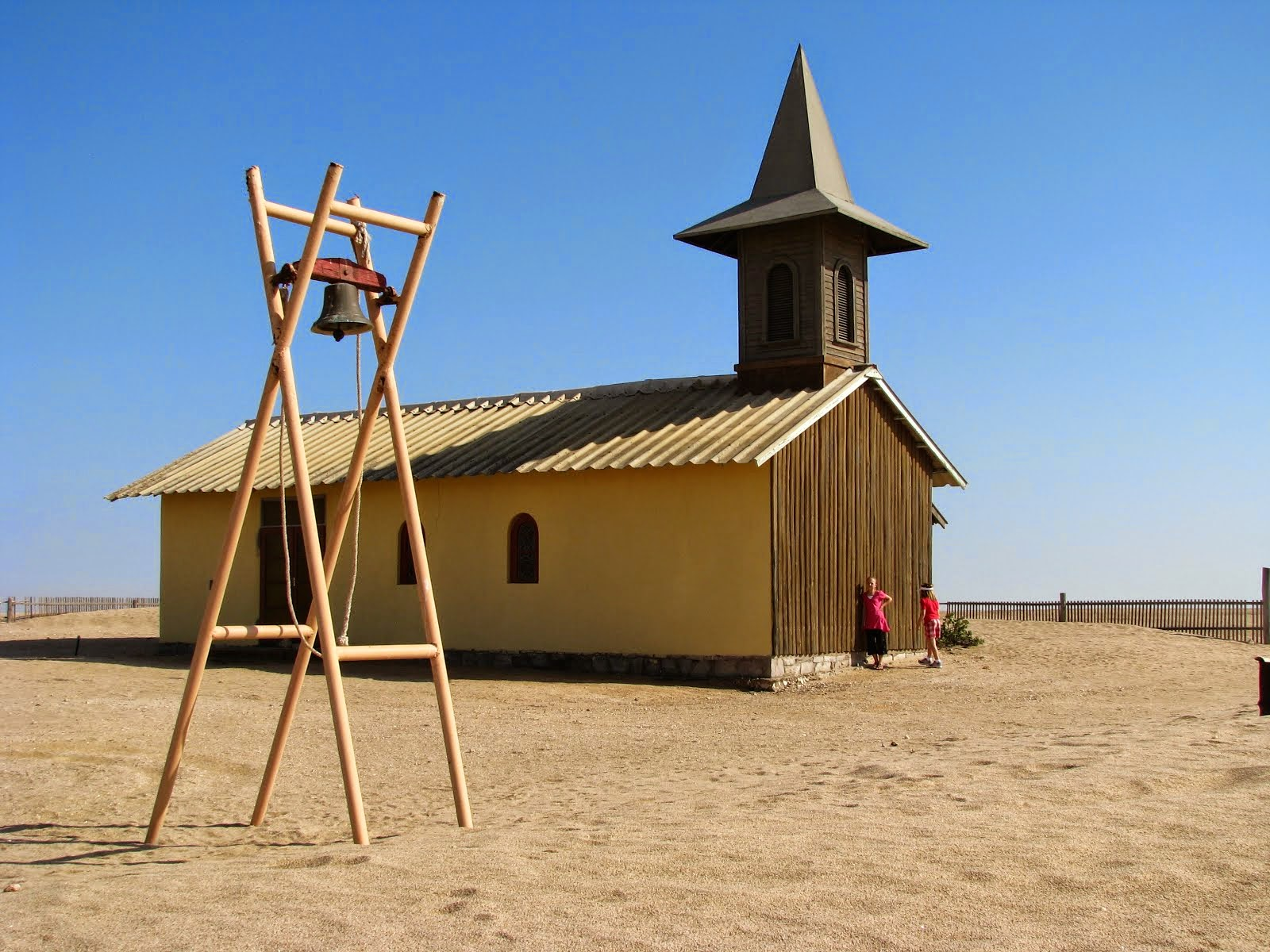 Namibia - church in the Namib