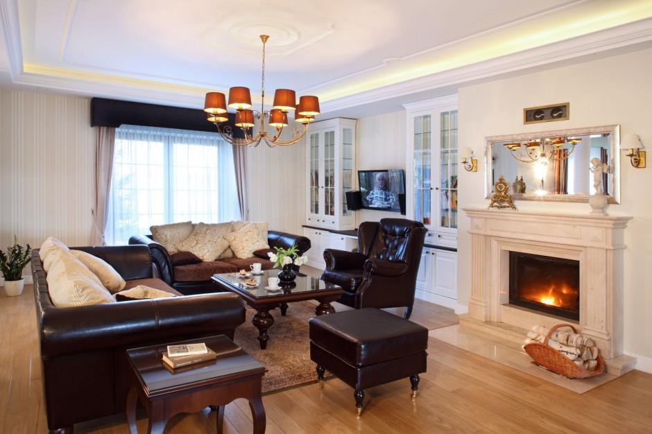 7 fotos de decoraci n de salas cl sicas - Salon clasico moderno ...