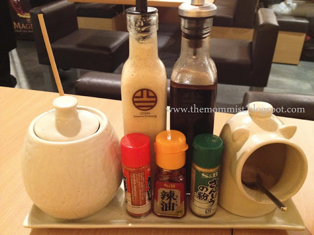 Katsudon sauces and spices
