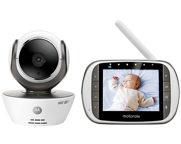 review motorola mbp853 connect baby monitor the test pit. Black Bedroom Furniture Sets. Home Design Ideas