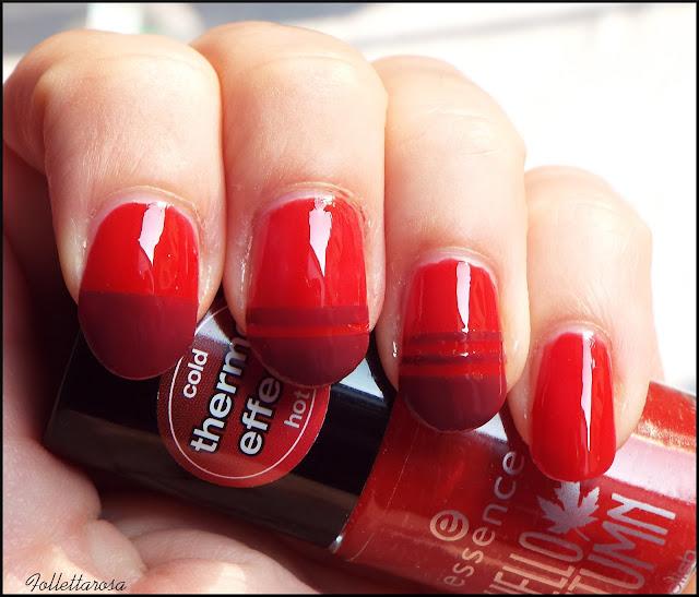 tutorial facile nail art facile autunno 2015