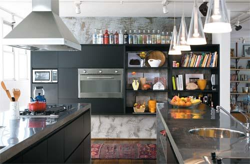 Ideia de cozinha americana com integração de ambientes