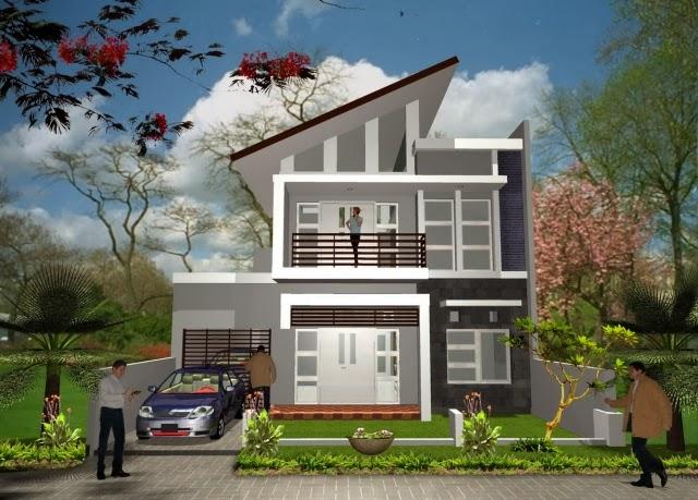 gambar desain rumah minimalis elegan
