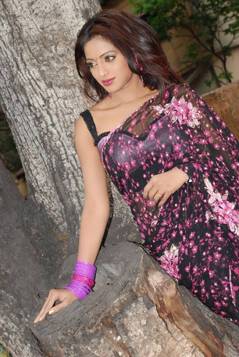 uday bhanu in saree tv anchor hot images