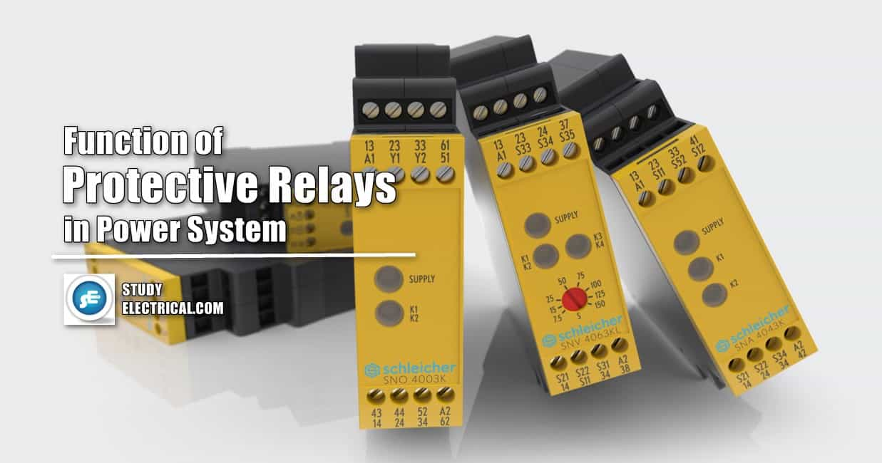 Function of Protective Relays in Power System StudyElectrical