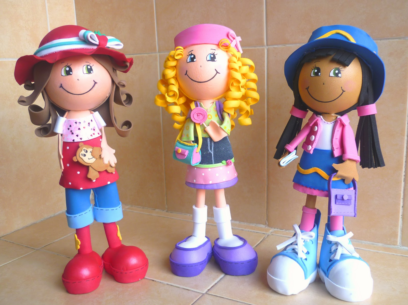 estas son las amigas de Rosita Fresita