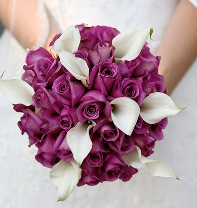 the wedding collections purple wedding flowers. Black Bedroom Furniture Sets. Home Design Ideas