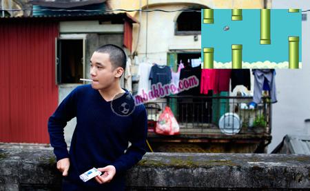Dong Nguyen yang suka hidup sederhana