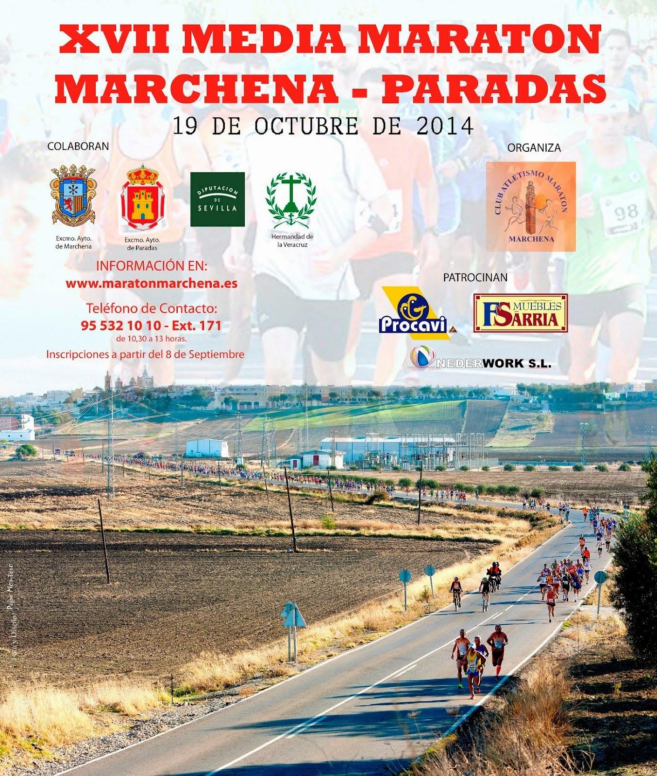 XVII Medio Maratón Marchena-Paradas