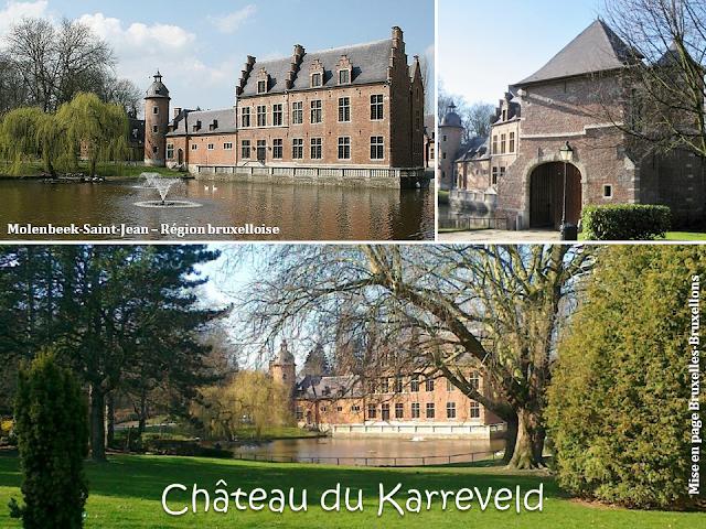 Château du Karreveld - De scènes d'histoire en scènes de théâtre - Molenbeek-Saint-Jean - Bruxelles-Bruxellons