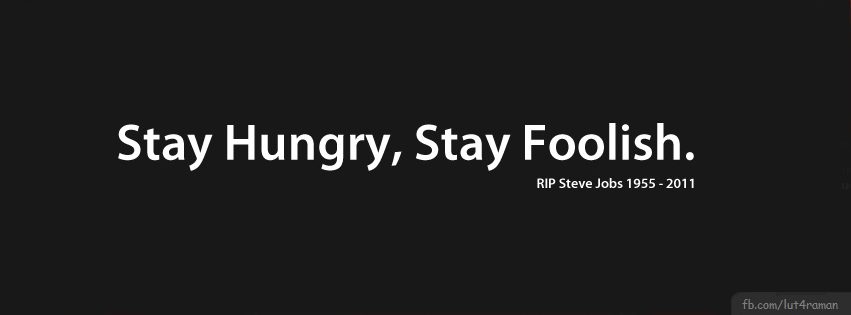 ... Stay Foolish Free Facebook Cover http://smart-facebook.blogspot.com