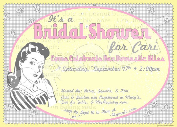 Vintage Bridal Shower Ideas Pinterest
