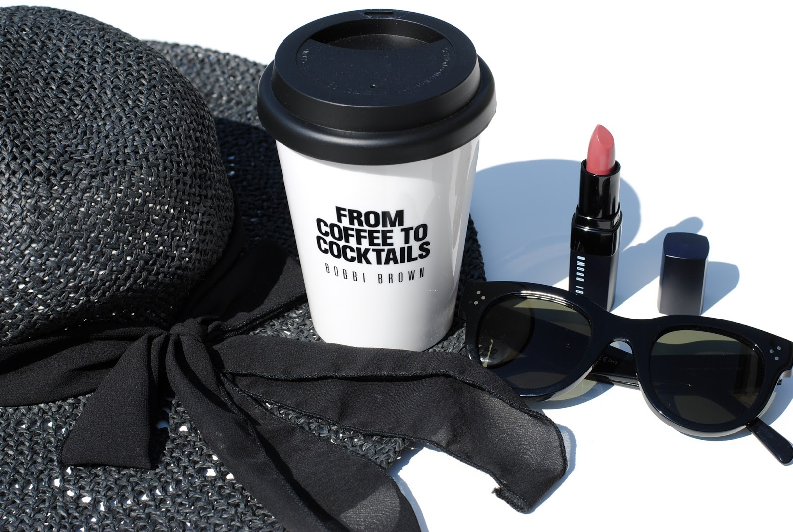 cool coffee cup and bobbi brown rich lip color