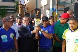 Inician recorrido antorcha SDE; de los Santos dice Juegos Muncipales serán un éxito