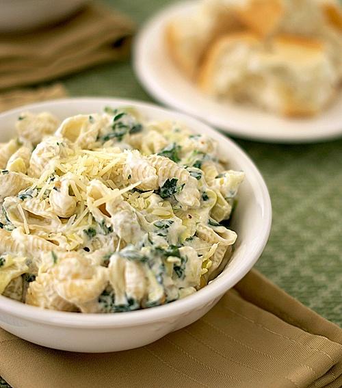 Amazing Pinterest world: Spinach Artichoke Pasta with ...