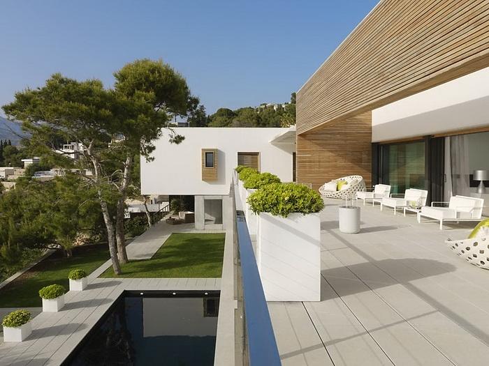 casas minimalistas y modernas terrazas minimalistas i