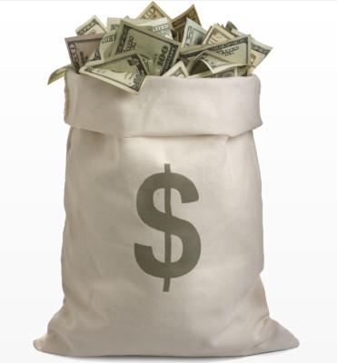 Если бы у вас был мешок денег?