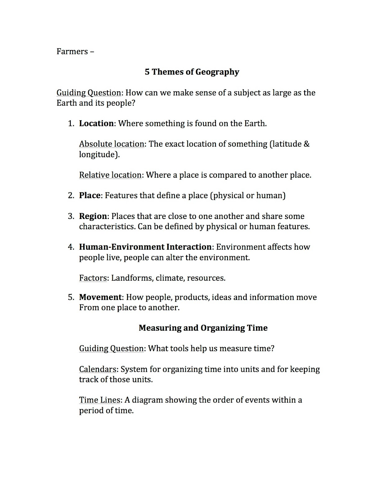 Diagram Collection Geography Worksheet More Maps Diagram And – 5 Themes of Geography Worksheets