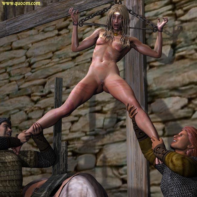Ебут рабынь викинги