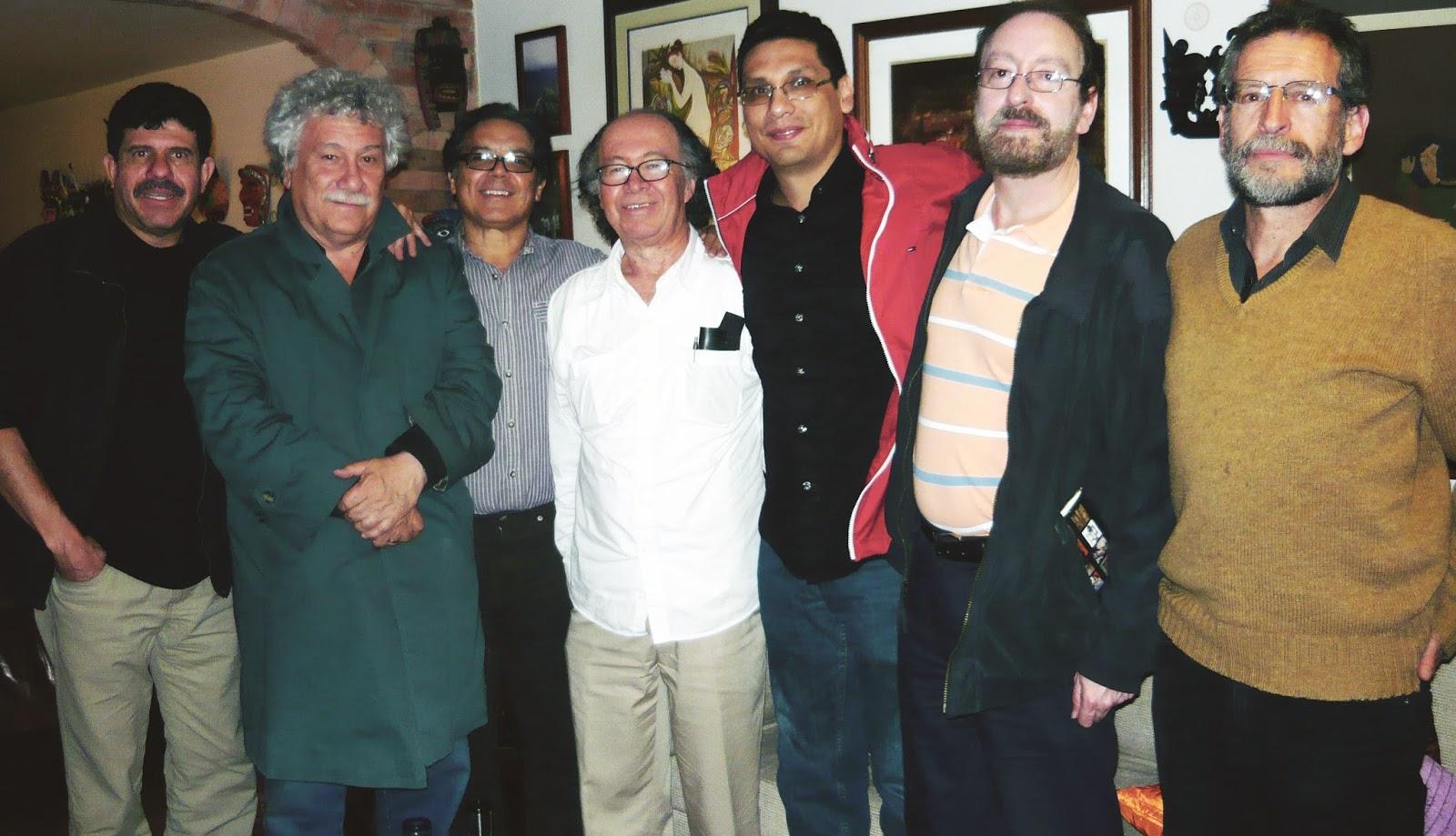 Juan Manuel Roca, José Ángel Leyva y amigos