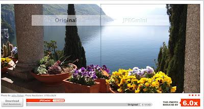Optimizar imagenes para las paginas web