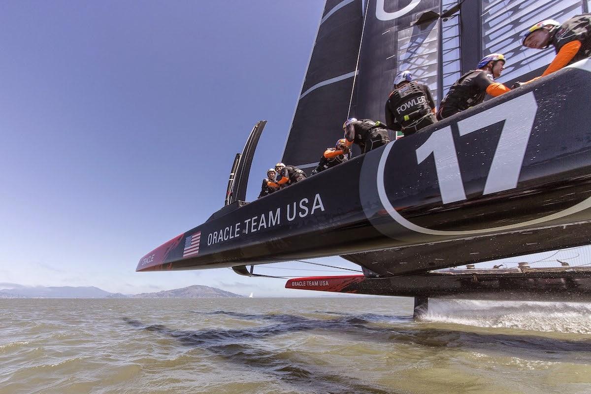 AC72 d'Oracle Team USA vainqueur de la 34ème America's Cup