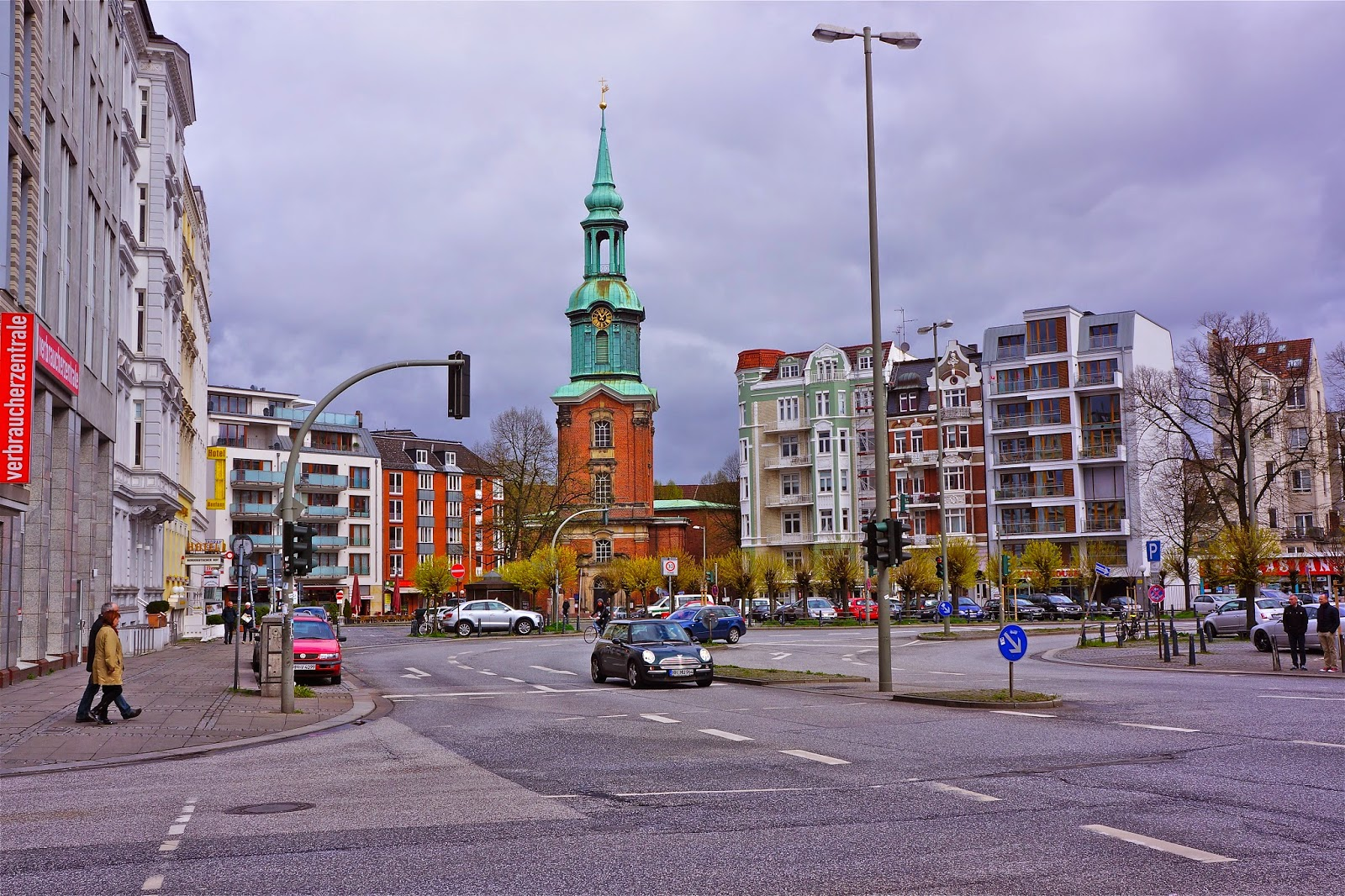 Picture of St Georgs Kirchhof in Hamburg, Germany.