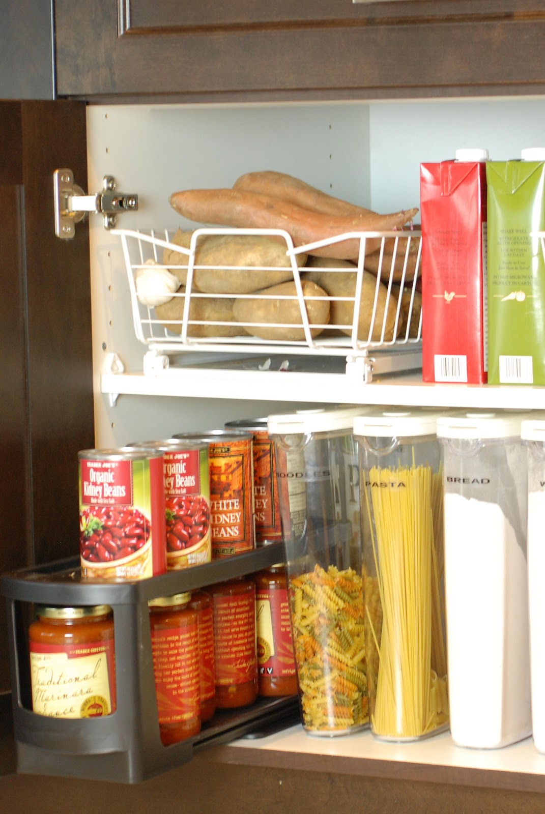 Kitchen Organization: Pantry Cabinet
