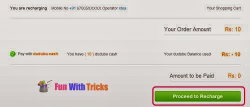 Get free 10 Rs. recharge for limited time_FunWidTricks.Com