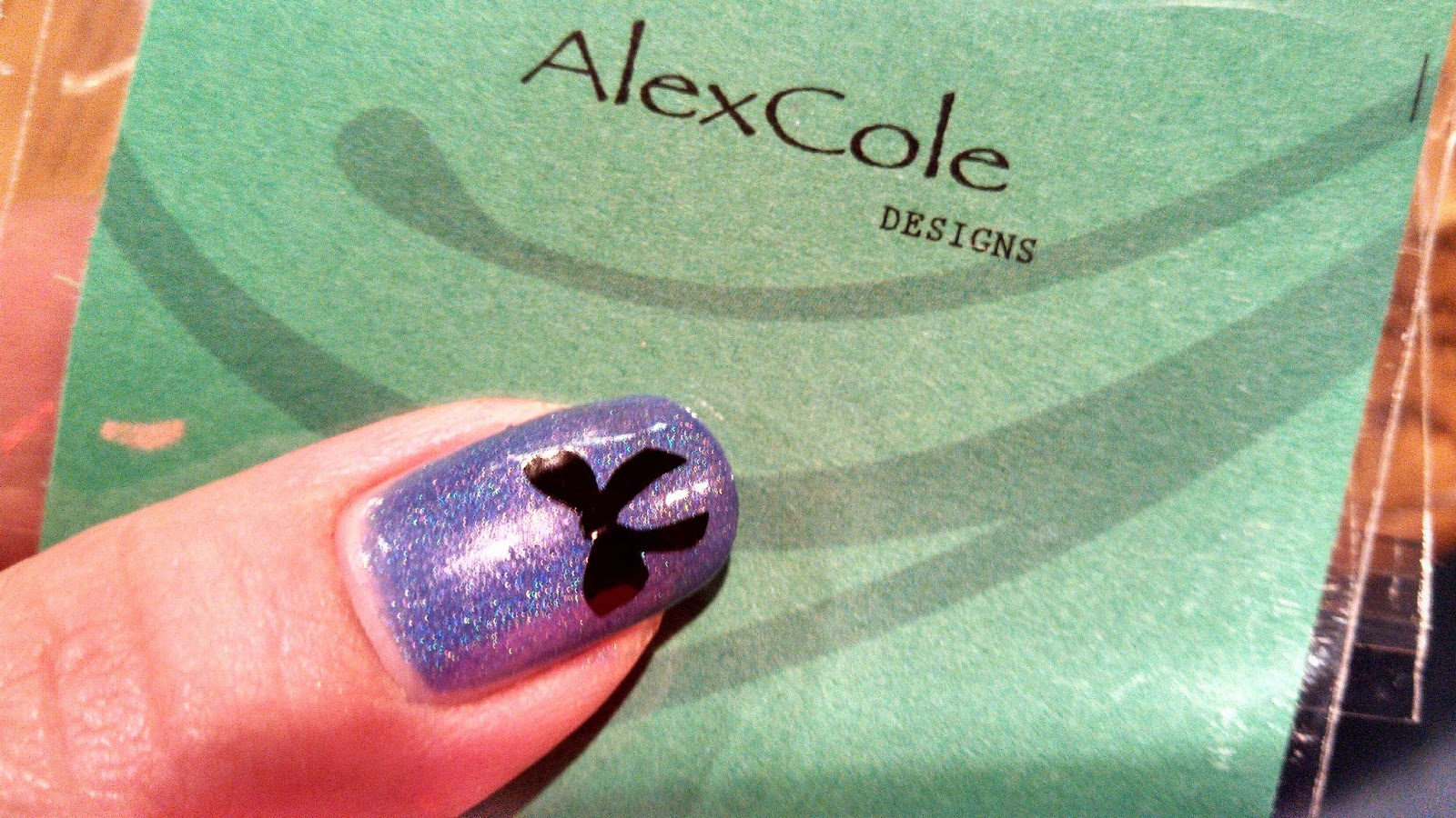 Enchanting Cosmetics Alex Cole Designs Review Of Nail Decals And
