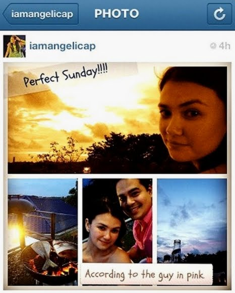 "Angelica Panganiban, John Lloyd Cruz ""Perfect Sunday"" Instagram"