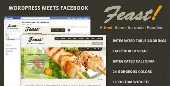 Feast WordPress Theme Free Download by ThemeForest.