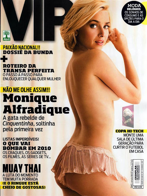 Monique Alfradique Revista Vip
