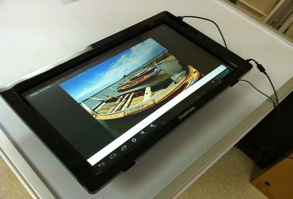 Zmartframe transforms your Monitor into a Touchscreen and Android PC