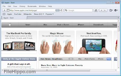 Free Download Safari 5.1.7