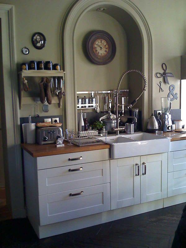 fregaderos sobre mueble para cocinas rsticas reformas guaita