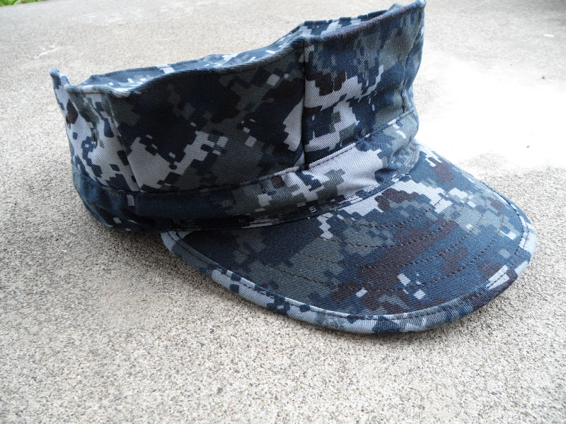 US Navy Digital Camo Hat, Navy Work Uniform, NWU