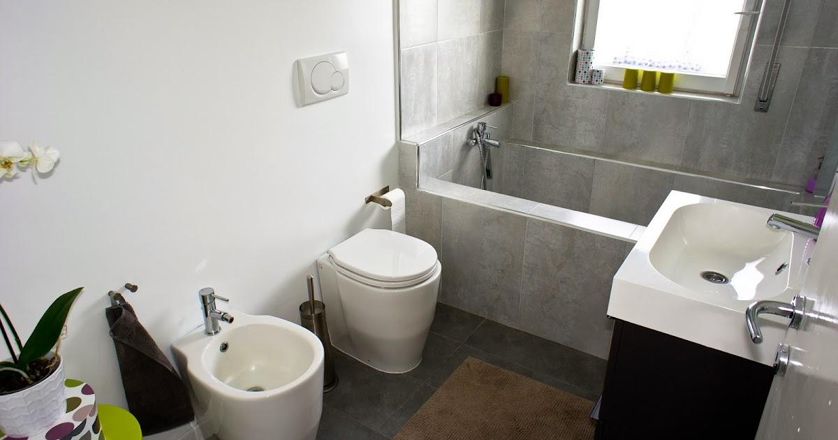 Ea ristruttura appartamento ristrutturato da noi bagno - Smalto per piastrelle bagno ...