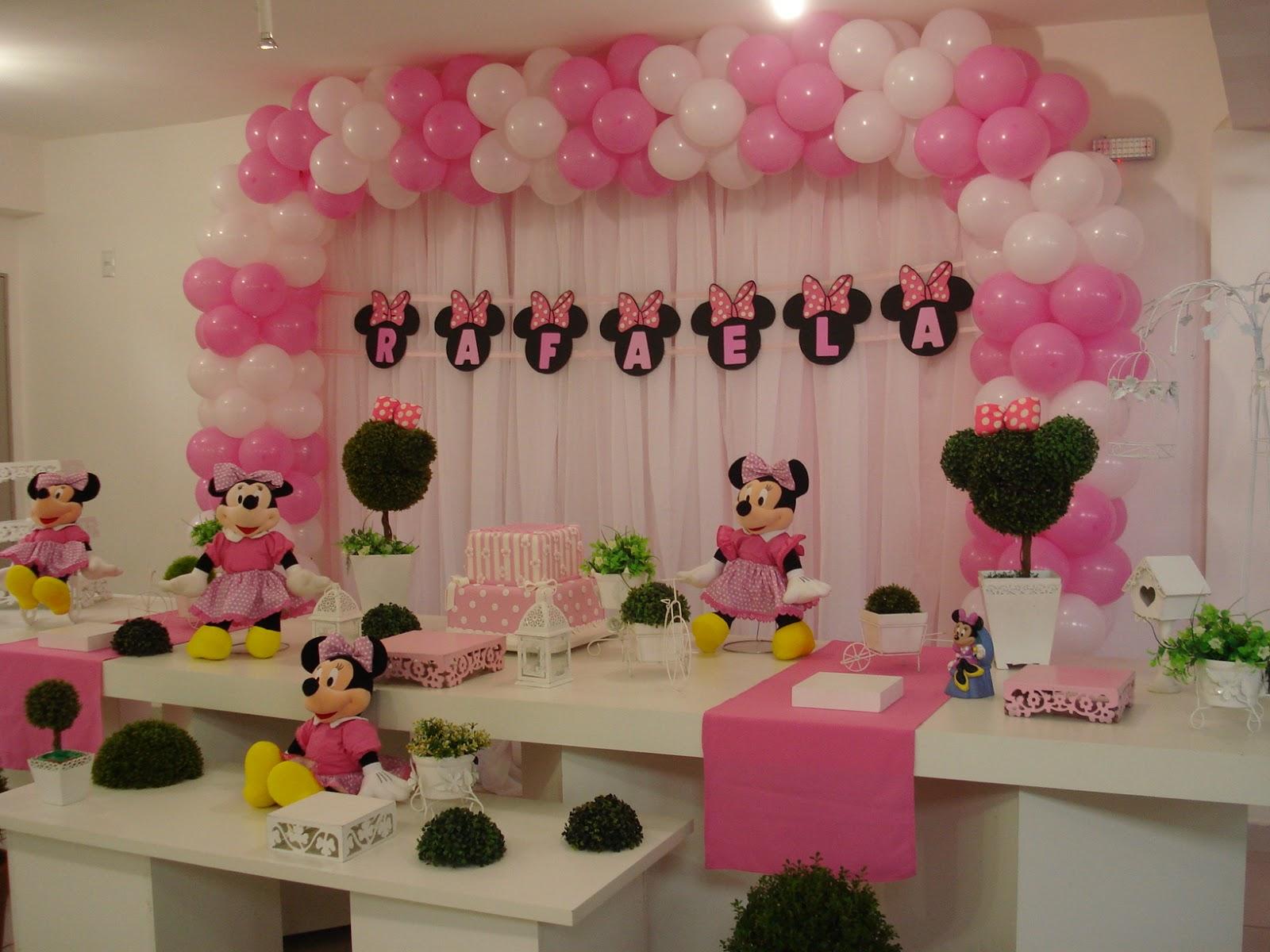 decoracao festa minnie rosa:Decoracao De Festa Infantil Da Minnie