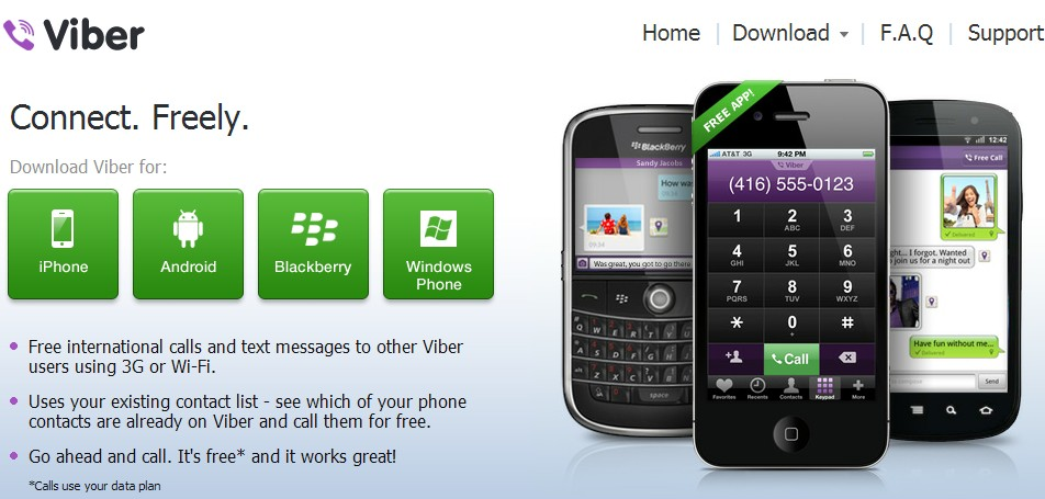 telecharger viber pour blackberry