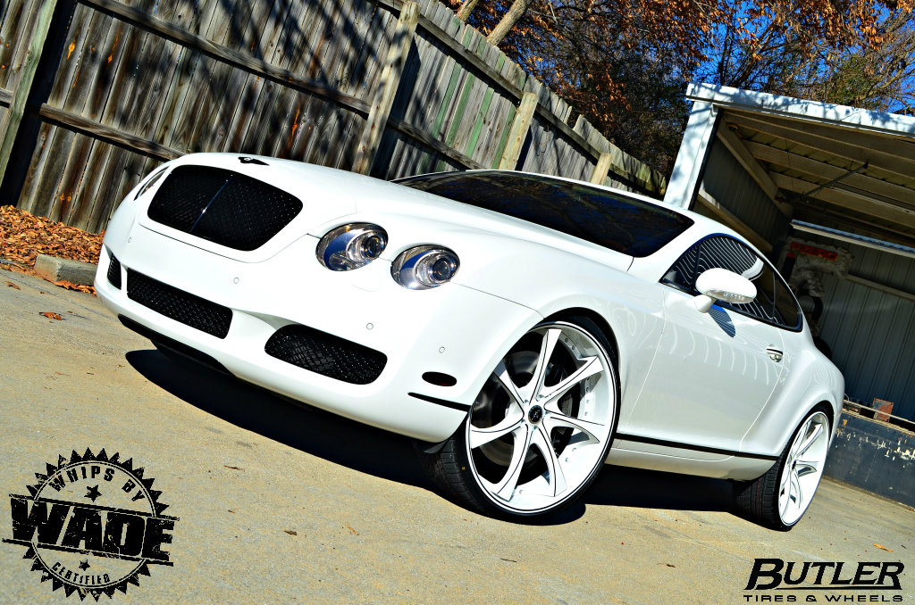 Whips by wade butler tire bentley gt coupe sitting on 24 savini butler tire bentley gt coupe sitting on 24 savini wheels sciox Images