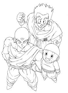dicas de Desenhos do Goku